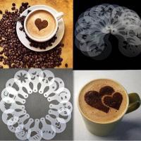 شابلون تزئین و طراحی قهوه