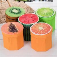 باکس و صندلى جمع شونده سه بعدى طرح میوه