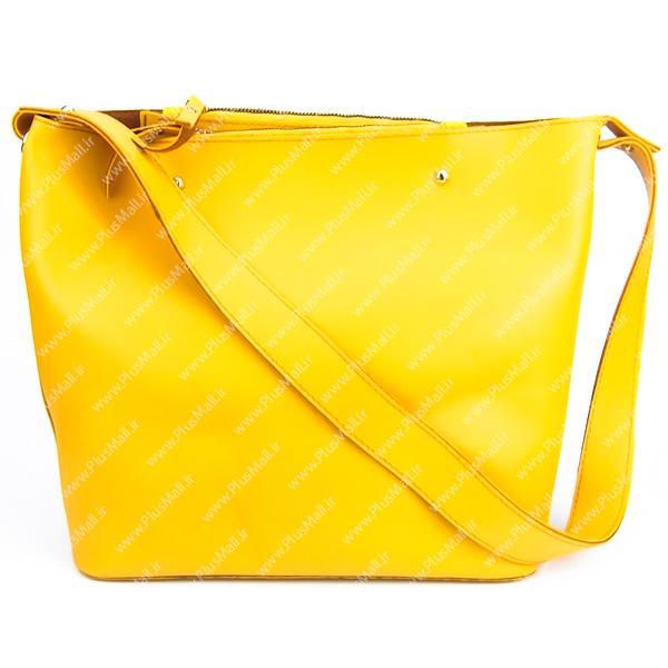کیف بزرگ زنانه زرد کد 602132