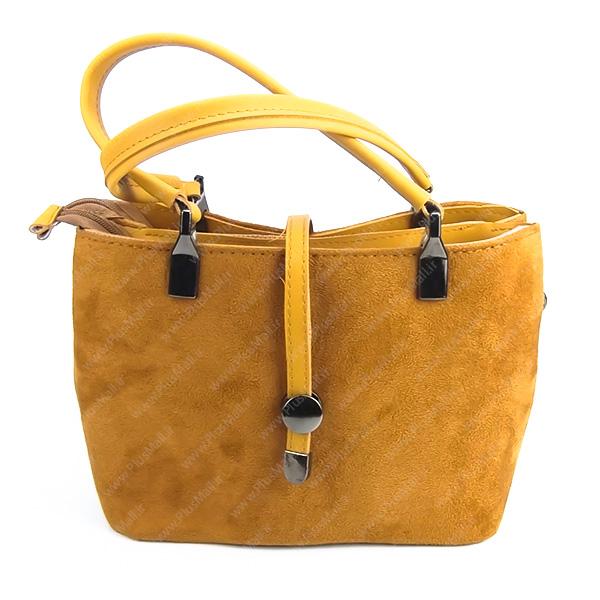کیف بزرگ زنانه زرد کد 602158