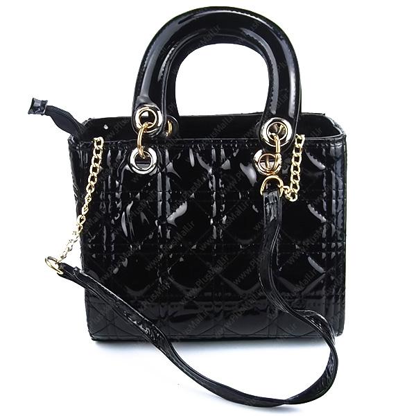 کیف کوچک زنانه ورنی کد 602210