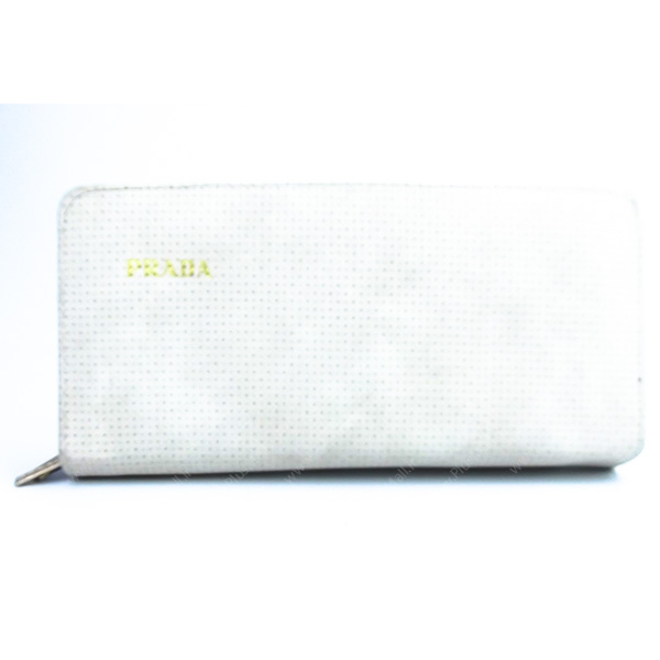 کیف پول زنانه سفید کد 603005