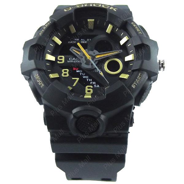 ساعت جی شاک مشکی G Shock GS960210