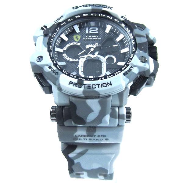 ساعت جی شاک سفید ارتشی G Shock GS960164