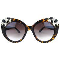 عینک آفتابی زنانه پلنگی کد 201007