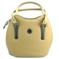 کیف زنانه بزرگ زرد کد 602019
