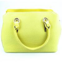 کیف زنانه زرد کد 602064