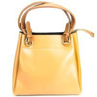 کیف بزرگ زنانه زرد کد 602092