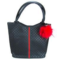 کیف بزرگ زنانه مشکی کد 602105