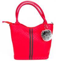 کیف بزرگ زنانه قرمز کد 602106