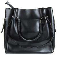 کیف بزرگ زنانه مشکی کد 602109