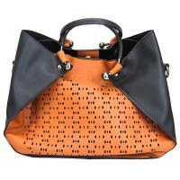 کیف بزرگ زنانه نارنجی کد 602115