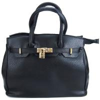 کیف بزرگ زنانه مشکی کد 602121