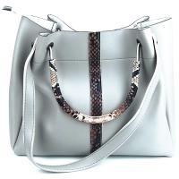 کیف بزرگ زنانه سفید کد 602125