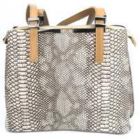 کیف بزرگ زنانه سفید کد 602146