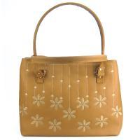 کیف بزرگ زنانه خردلی کد 602147