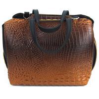 کیف بزرگ زنانه قهوه ای کد 602167