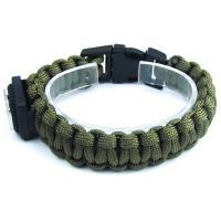 دستبند بافت سبز قطب نما دار DM980009
