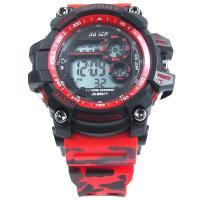 ساعت مچی اسپورت قرمز مشکی Sport Watch GD960273