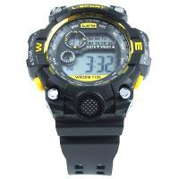 ساعت مچی اسپورت مشکی زرد Sport Watch GD960284