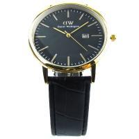 ساعت مچی کلاسیک لمبز طلایی مشکی Lambs MR960259