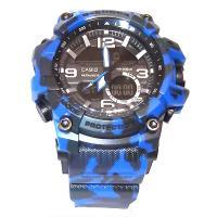 ساعت مچی کاسیو جی شاک آبی چریکی - CASIO G-Shock 960109