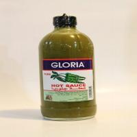 سس فلفل سبز تند 474 میلیلیتری گلوریا