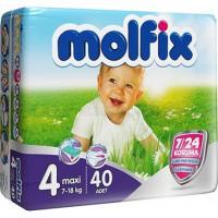 پوشک بچه مولفیکس 40 عددی سایز 4