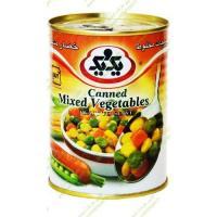 کنسرو سبزیجات مخلوط یک و یک 385 گرمی