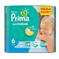 پوشک بچه پریما 32 عددی وسایز 6