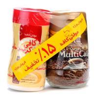 بسته بندی قهوه فوری 100گرمی+کافی کریمر