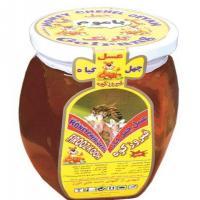 عسل چهل گیاه با موم فیروزکوه گلرنگ 500 گرمی