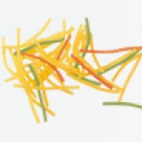 اسپاگتی مخلوط سبزیجات قطر 1/5 زر ماکارون