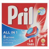 قرص ظرفشویی پریل مدل All In 1 بسته 14 عددی
