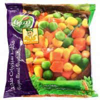 مخلوط سبزیجات منجمد پمینا