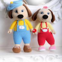 عروسک دستبافت هاپوهای عاشق