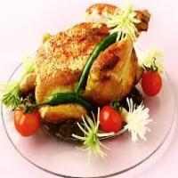 مرغ  محلی شکم پر