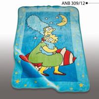پتوی کودک نرمینه کد ANB 309