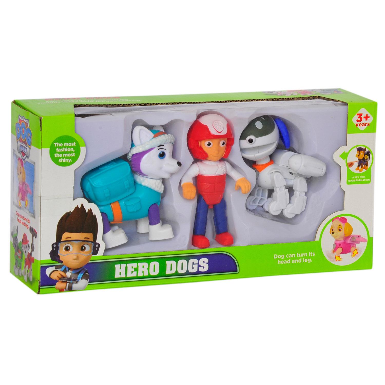 فیگور پاو پاترول مدل سگ نگهبان کد 01 بسته 3 عددی