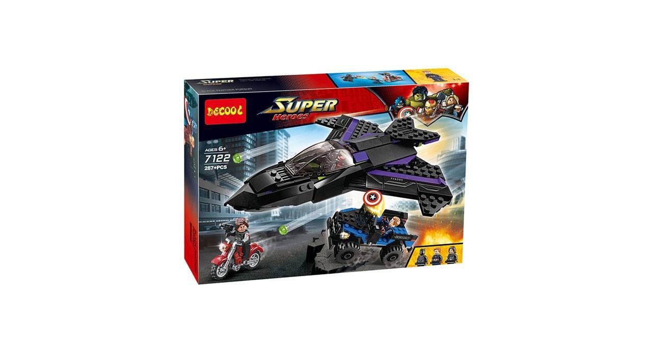 ساختنی دکول مدل 7122 Super Heroes