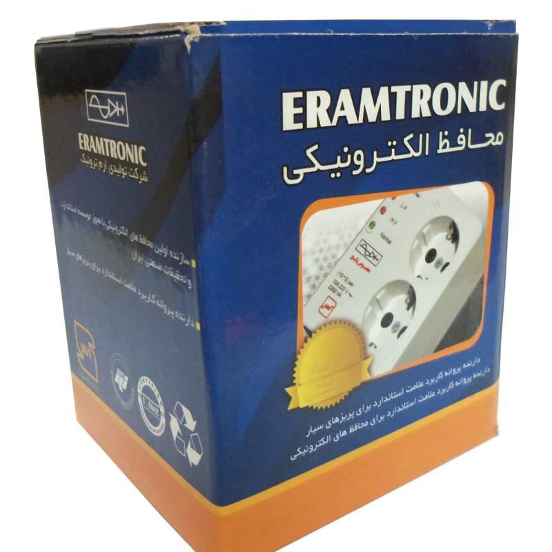 محافظ ولتاژ کولرهای گازی و اسپلیت ارم ترونیک مدل EC01