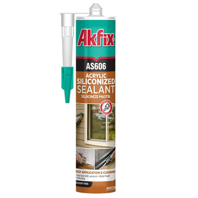 چسب درزگیر آکفیکس مدل AS606 حجم 310 میلی لیتر