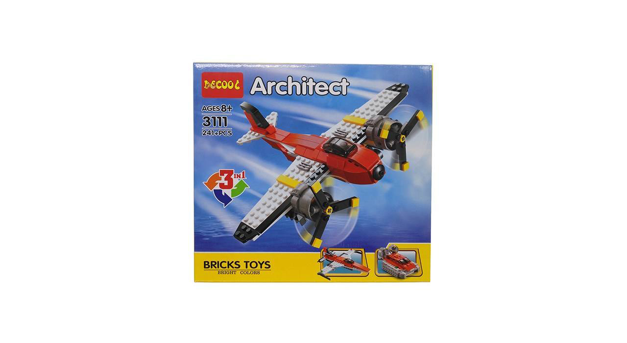 ساختنی دکول سری 3111 Architect کد KTS-025 تعداد 241 تکه