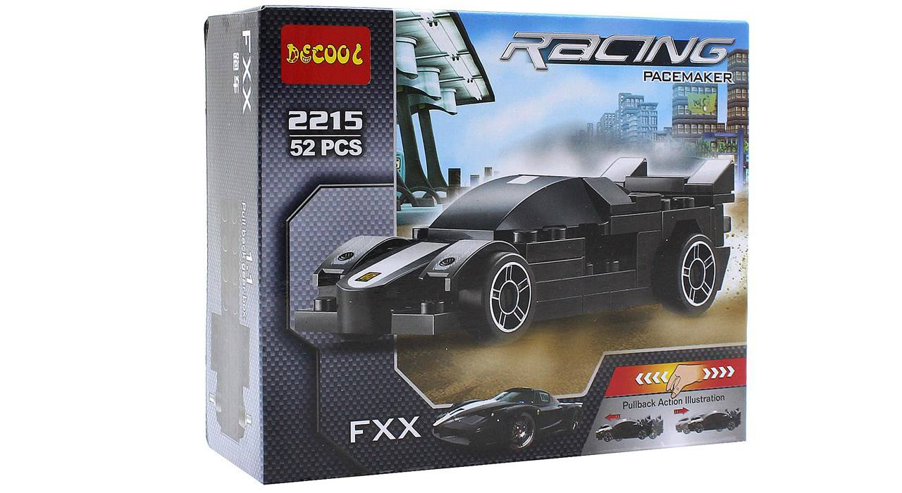 ساختنی دکول مدل Racing 2215