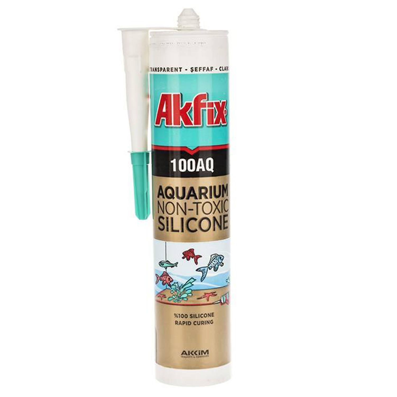 چسب آکواریوم آکفیکس مدل 100AQ حجم 310میلی لیتر
