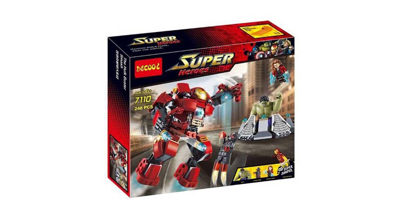 ساختنی دیکول مدل Super Heroes 7110