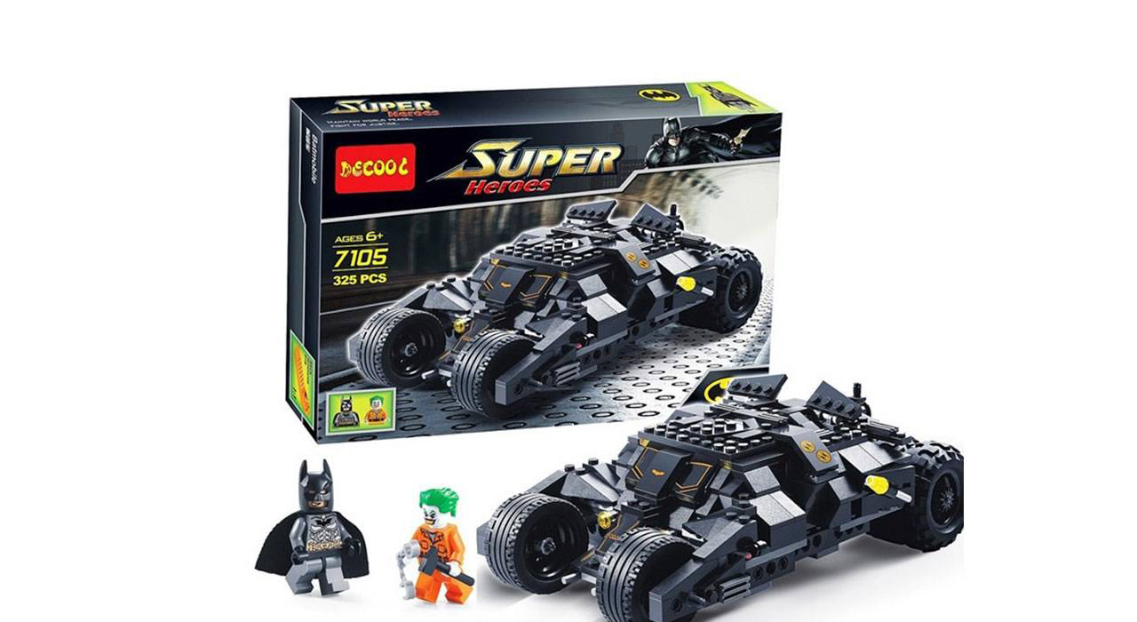 ساختنی دکول مدل Super Heroes 7105