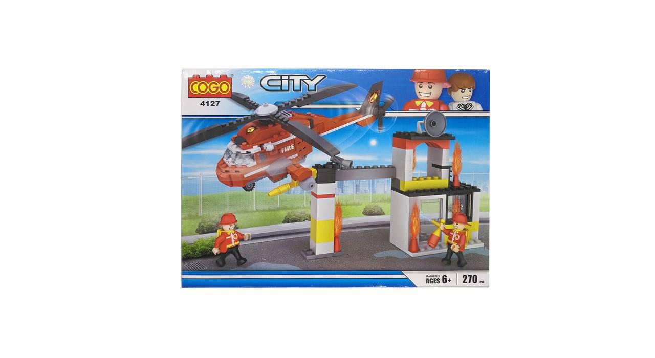 ساختنی کوگو مدل 4127 City تعداد 270 تکه