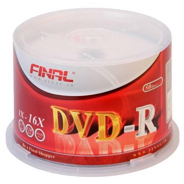 دی وی دی خام فینال DVD-R