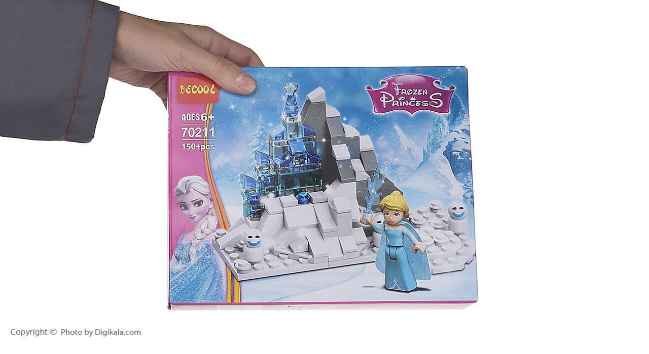 ساختنی دکول مدل Frozen Princess